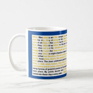 The Story of Hanukkah Coffee Mug