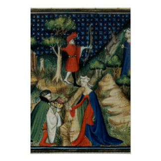 The Story of Procris, from `De Claris Poster