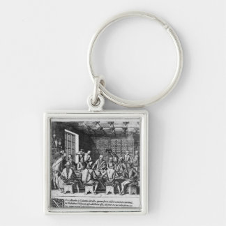 The Story of the Egg of Christopher Columbus Key Chain
