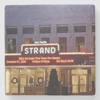 The Strand, Marietta, Ga. Marble Stone Coaster. Stone Coaster