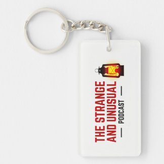 The Strange and Unusual Podcast Acrylic Keychain
