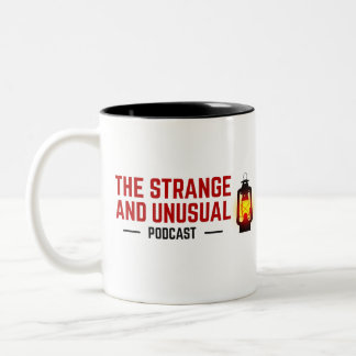 The Strange and Unusual Podcast Two-Tone Mug