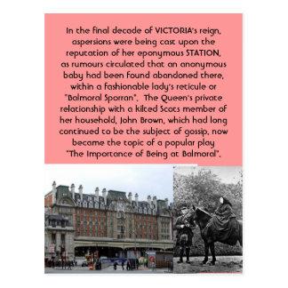 The Strange Case of the Balmoral Sporran Scandal Postcard