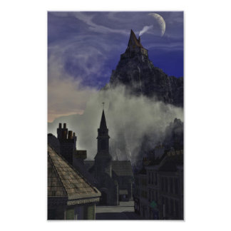 The Strange High House In The Mist Photographic Print
