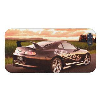 The Street King - Black Beauty iPhone 5 Cover