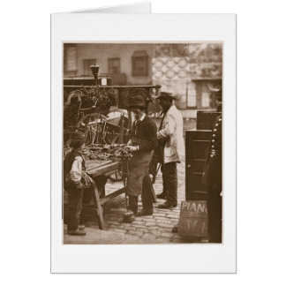The Street Locksmith, from 'Street Life in London' Card