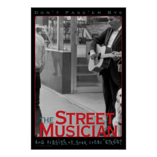 The Street Musician Poster