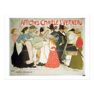'The Street', poster for the printer Charles Verne Postcard