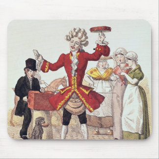 The Street Singer, engraved by Alois Senefelder Mouse Pad