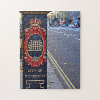 The Streets of Westminster  -  London Puzzler Jigsaw Puzzle