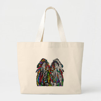 THE STRENGTH OF LARGE TOTE BAG