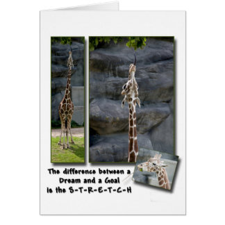 The Stretch Greeting Card