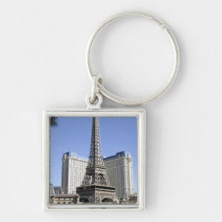 The Strip, Paris Las Vegas, Luxury Hotel Keychain