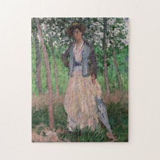 The Stroller - Claude Monet Jigsaw Puzzle