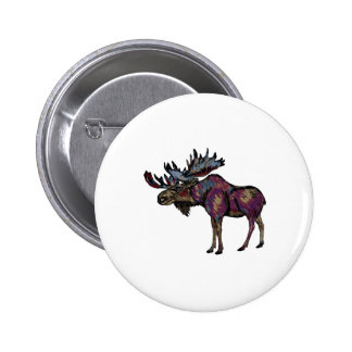 THE STRONG BULL 2 INCH ROUND BUTTON