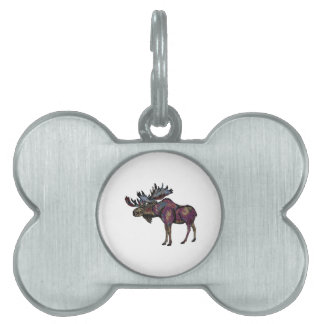 THE STRONG BULL PET ID TAG