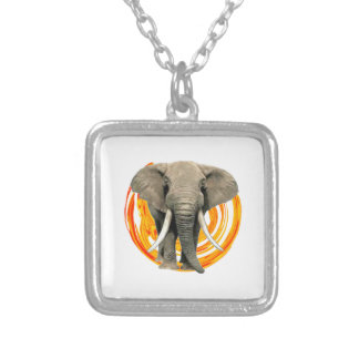 THE STRONGEST ONE SILVER PLATED NECKLACE