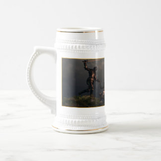 The Struggle of the Knight Templar Beer Stein