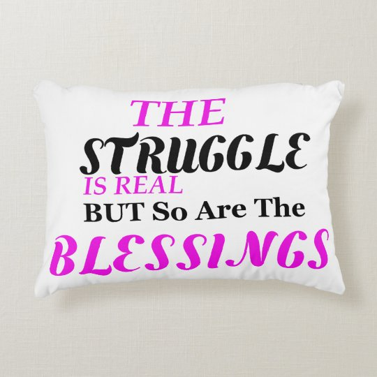 The Struggle Pillow