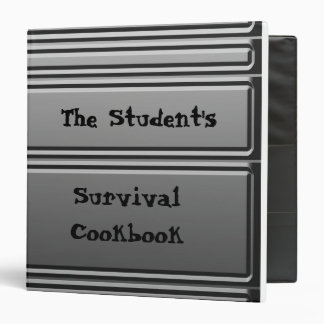 The Student's Survival Cookbook - Riveted Binder