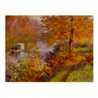 The Studio Boat by Claude Monet Fine Art Postcard