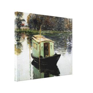 The Studio Boat Canvas Print