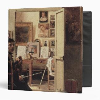 The Studio of Ingres in Rome, 1818 Vinyl Binders