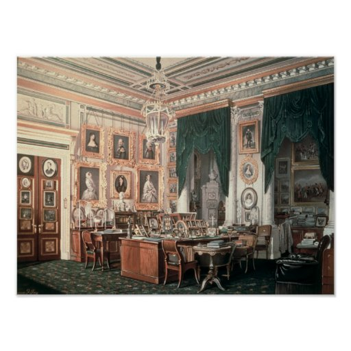 The Study of Alexander III  at Gatchina Palace Posters