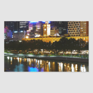 The Stunning Yarra And Melbourne Skyline at Night