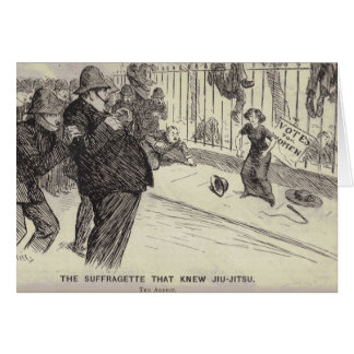 The Suffragette that Fought Back Greeting Card