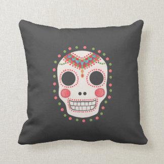 The Sugar Skull Throw Pillow