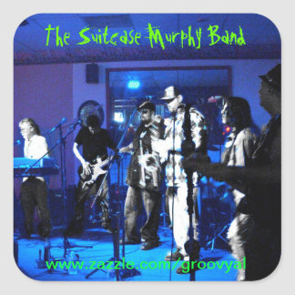 The Suitcase Murphy Band Sticker