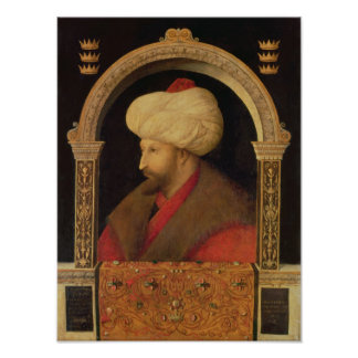 The Sultan Mehmet II  1480 Poster