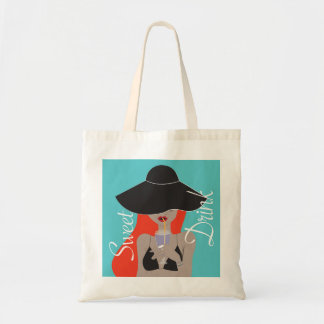 The summer under my hat - Fraiches Drinks Tote Bag