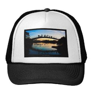 The sun 009 - Sunset at the city Trucker Hat