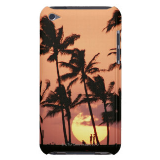 The Sun and Palm Tree iPod Touch Case-Mate Case