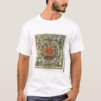 The Sun and the Zodiac, Russian, late 18th century T-Shirt