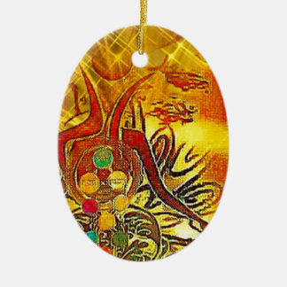 The Sun Ceramic Ornament