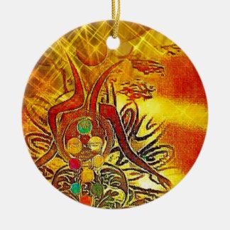 The Sun Ceramic Ornament