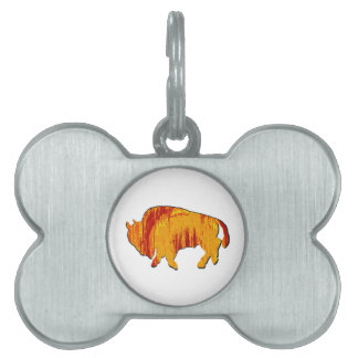 THE SUN DRENCHED PET TAG
