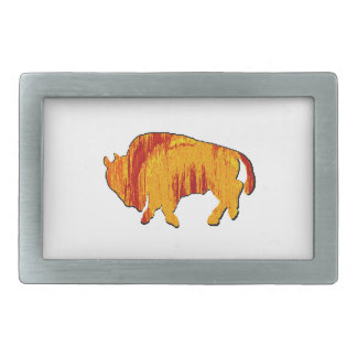 THE SUN DRENCHED RECTANGULAR BELT BUCKLE