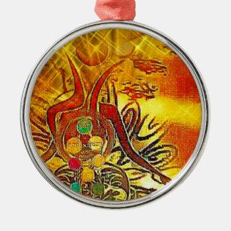 The Sun Metal Ornament