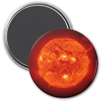 THE SUN (outer space solar system) ~ ~ 3 Inch Round Magnet