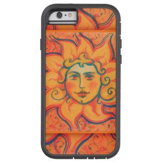 """""""The Sun"""", pastel painting, fairytale art, orange Tough Xtreme iPhone 6 Case"""