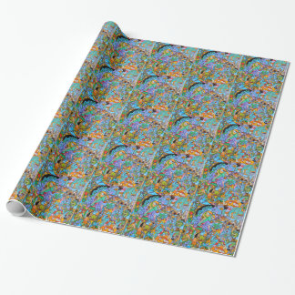 The Sun Ride by Lorenzo Traverso Wrapping Paper