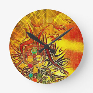 The Sun Round Clock