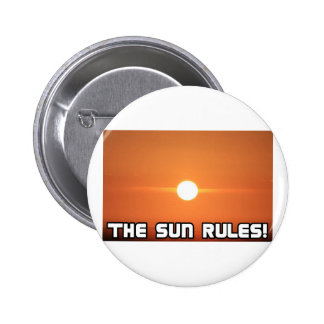 The Sun Rules! 3 Pins