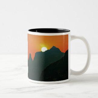 The Sun Will Shine Again Tomorrow Two-Tone Coffee Mug