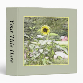 The Sunflower Garden Binder