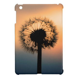 The Sunset and the Fragile Dandelion iPad Mini Cover